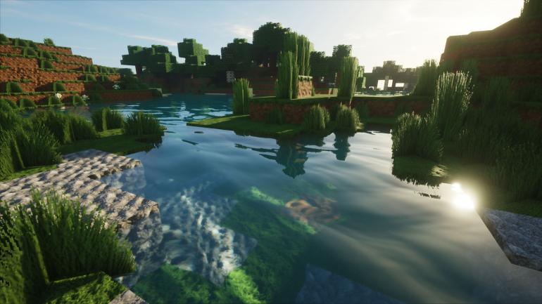Minecraft รองรับกราฟิก Ray-Tracing เป็นทางการแล้ว