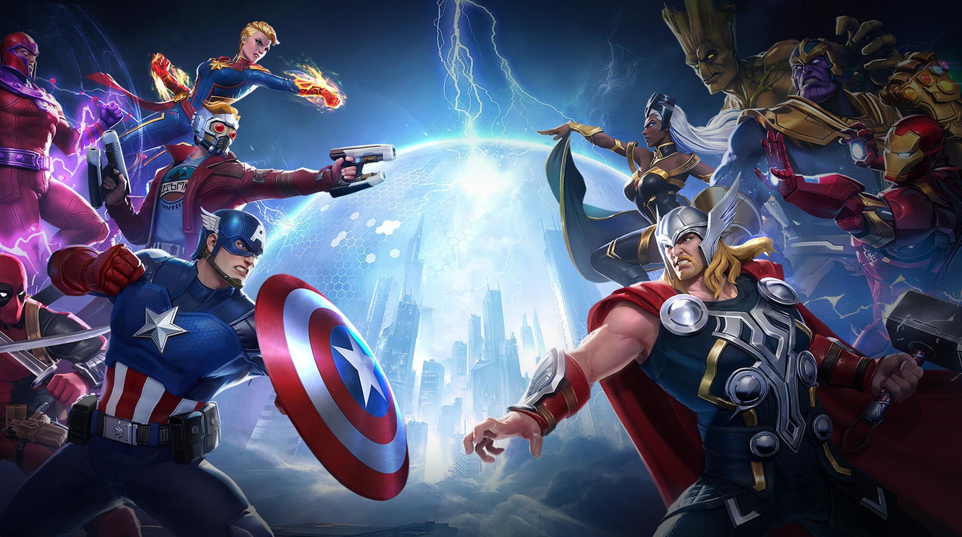 Marvel Super War เกมมือถือแนว MOBA ในจักรวาลมาร์เวลซูเปอร์ฮีโร่
