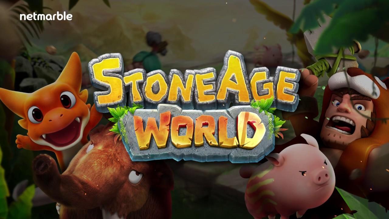 StoneAge World เกมมือถือ Turn Based ผจญภัยในยุคหิน