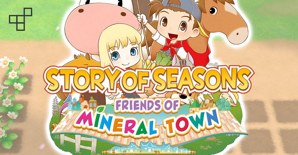 รีวิวเกม Story of Seasons Friends of Mineral Town