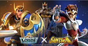 Lords Mobile จับมือกับอนิเมะชื่อดัง Saint Seiya เปิดศึกจักรราศี